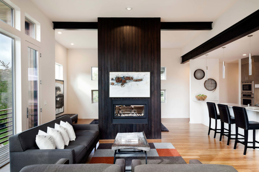 Modern Natural Madison Park House Project By First Lamp
