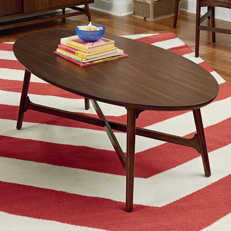 Oval Coffee Table With Metal Legs: 20 Top Wooden Oval Coffee Tables