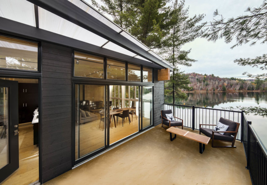 Cross Laminate Timber Cottage Project By Kariouk Associates