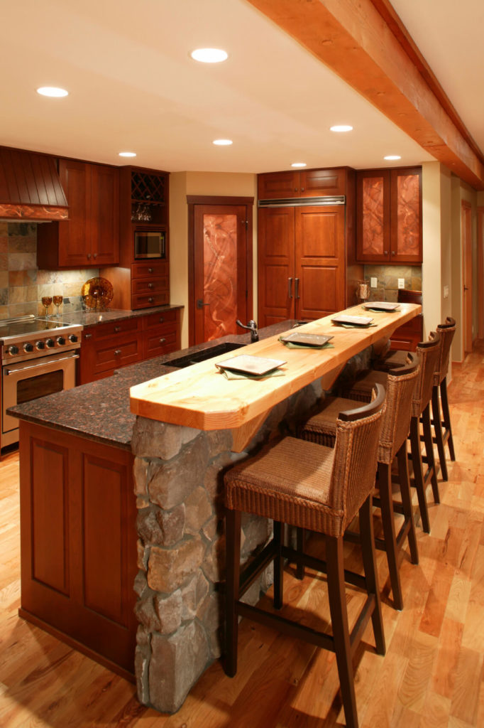 Breakfast Bar Designs For Small Kitchens