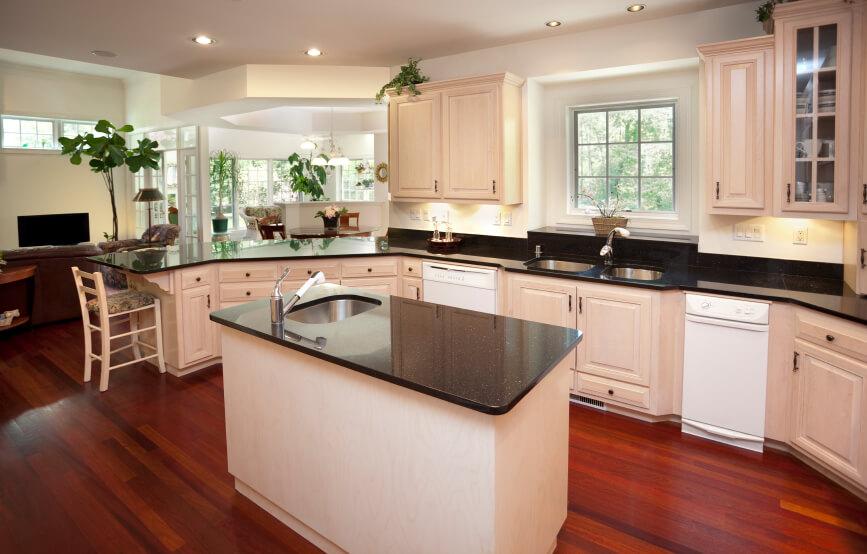Redwood Kitchen Cabinets