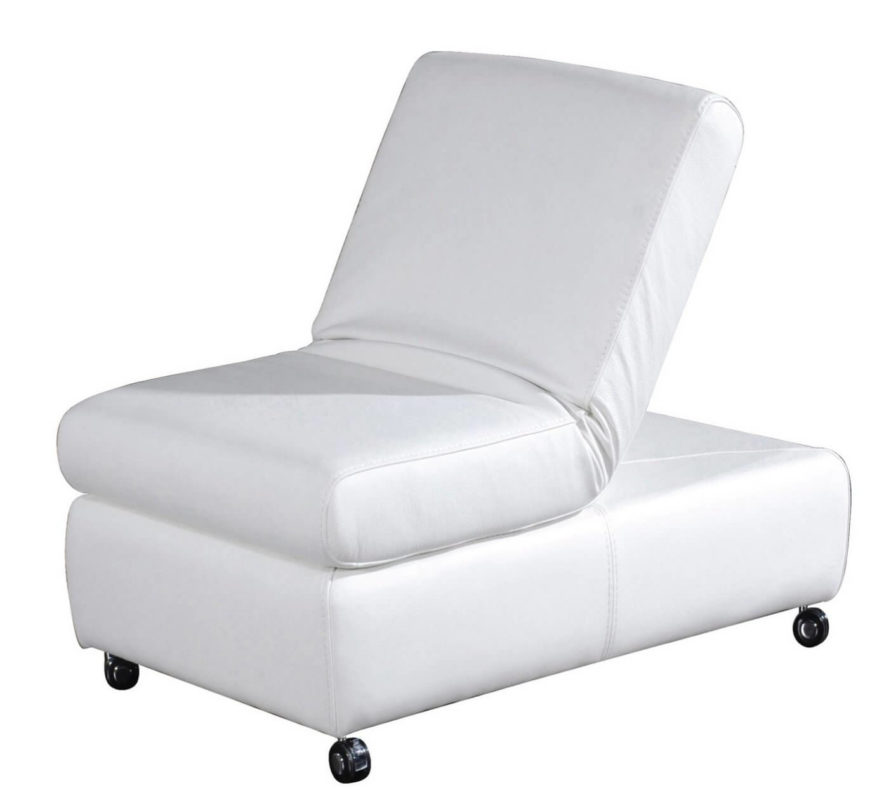 25 white leather ottomans square rectangle for Unique sitting chairs
