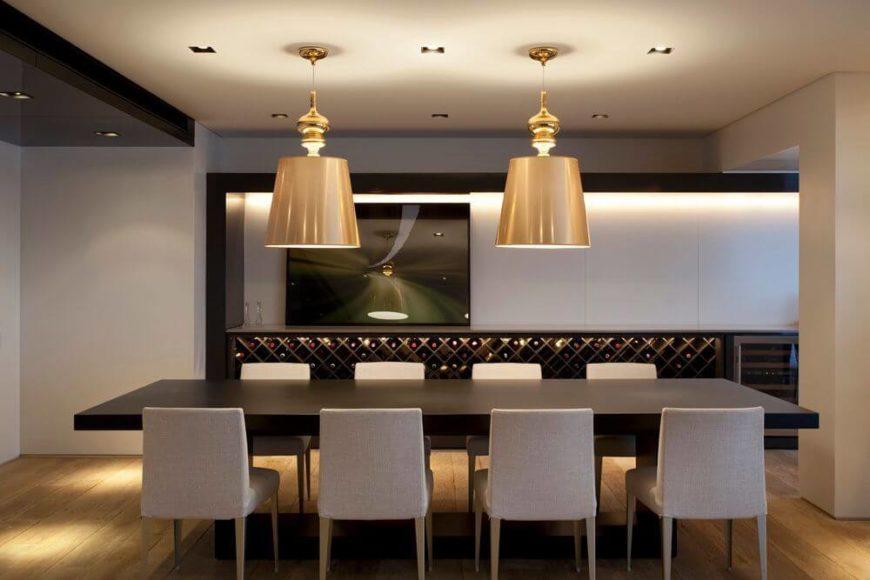 Low Profile Dining Room Light