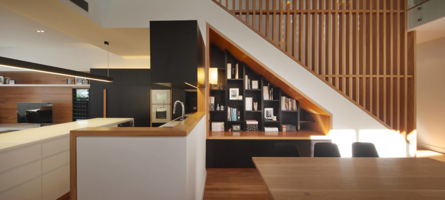 Charcoal Wood Kitchen Cabinets