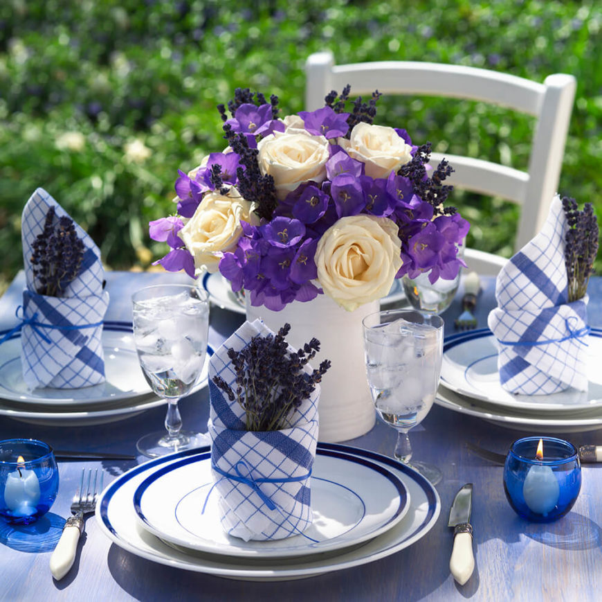 Extravagant floral arrangements for your dining table