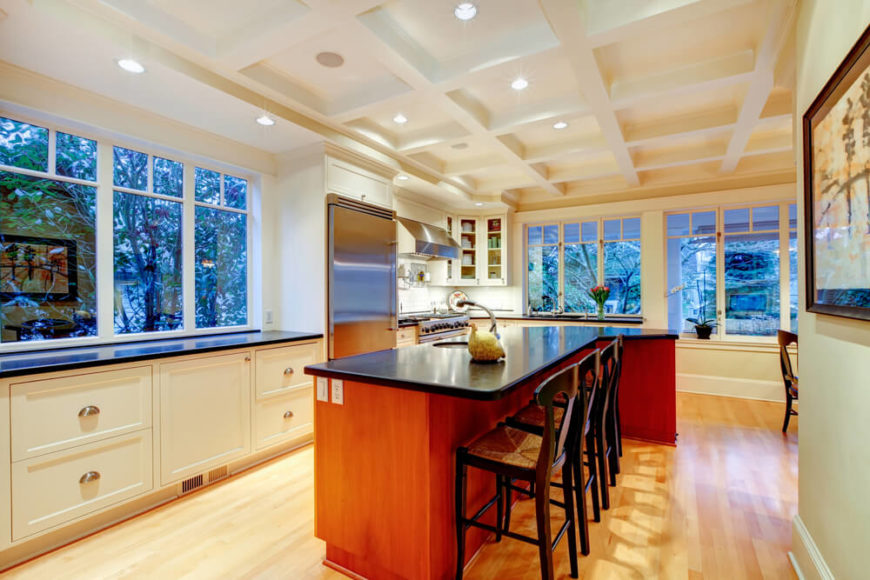 Here Is The Same Kitchen From A Different Angle, Exposing The Heritage  Styled Windows On Part 36