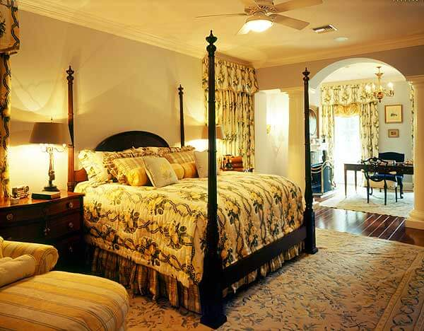 30 glorious bedrooms with a ceiling fan for Plantation style bed