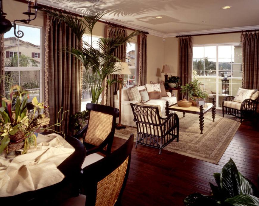 Dark Cowhide Rug Living Room Ideas