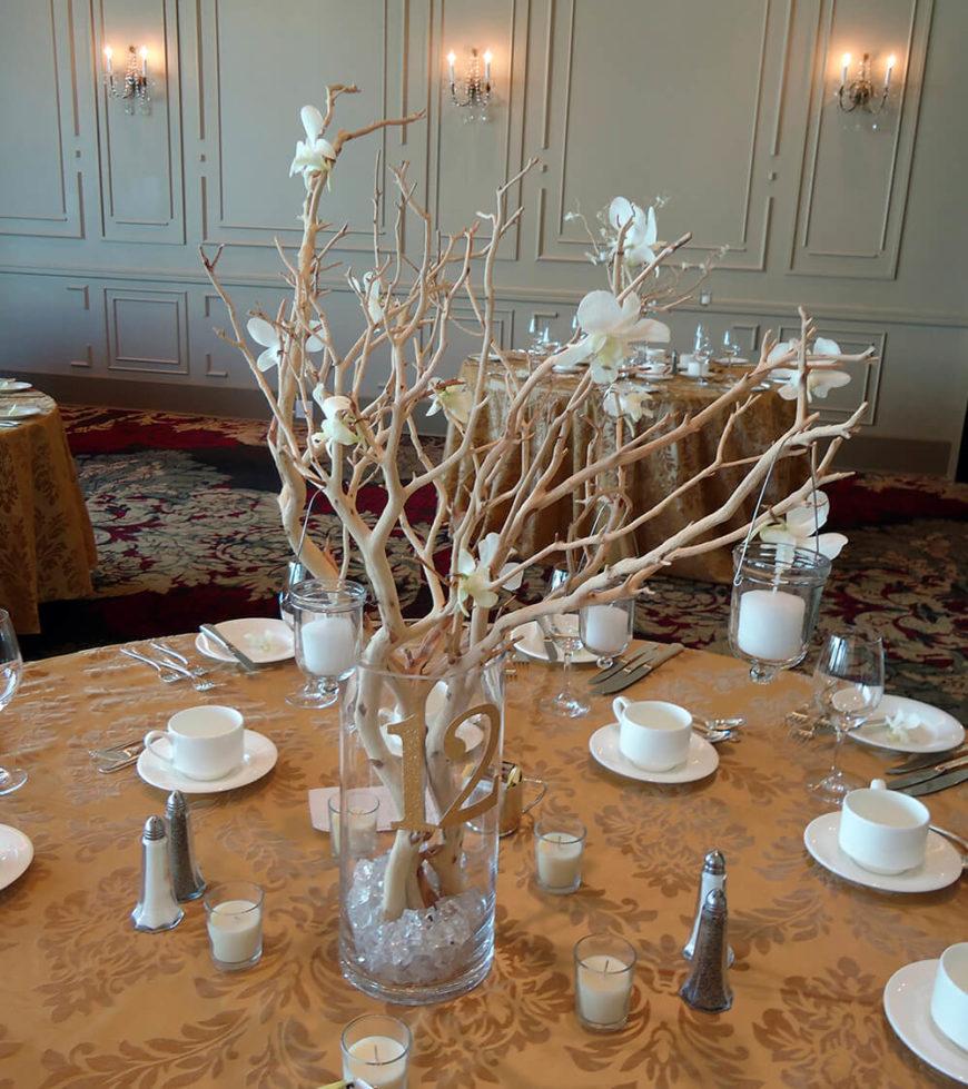Bouquet Decoration Table Mariage