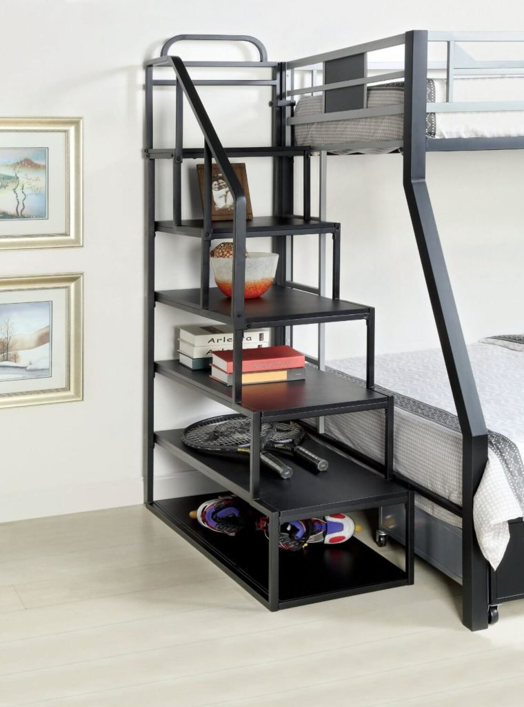 How to design loft beds with stairs