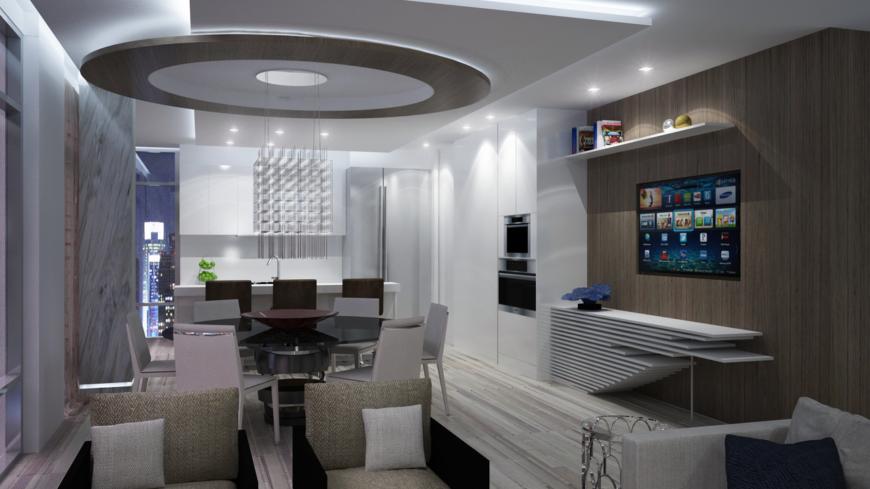 Shelving Living Room Wall Unit