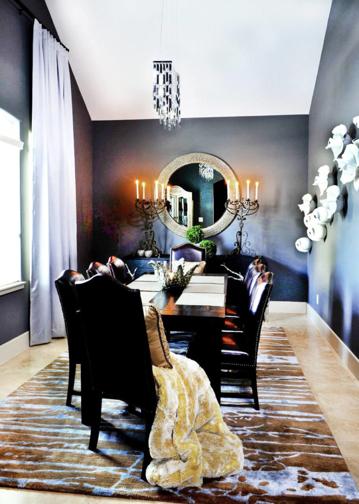 Dining Room Metallic Paint