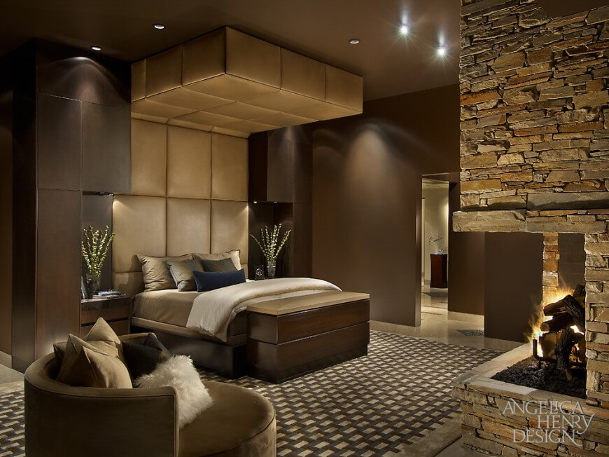 19 Jaw Dropping Bedrooms With Dark Furniture DESIGNS