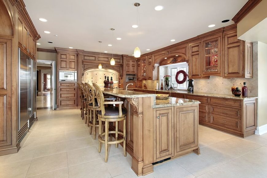 84 Custom Luxury Kitchen Island Ideas amp Designs Pictures