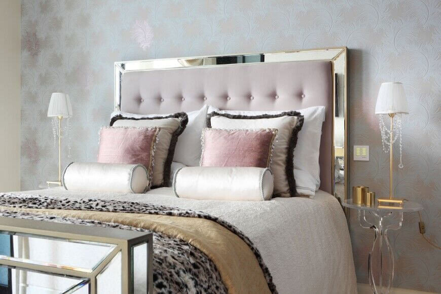 Beautiful Headboard 27 elegant bedrooms with distinct fabric headboards (pictures)