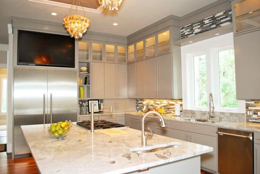 Kitchen Island With Cooktop 25 spectacular kitchen islands with a stove (pictures)
