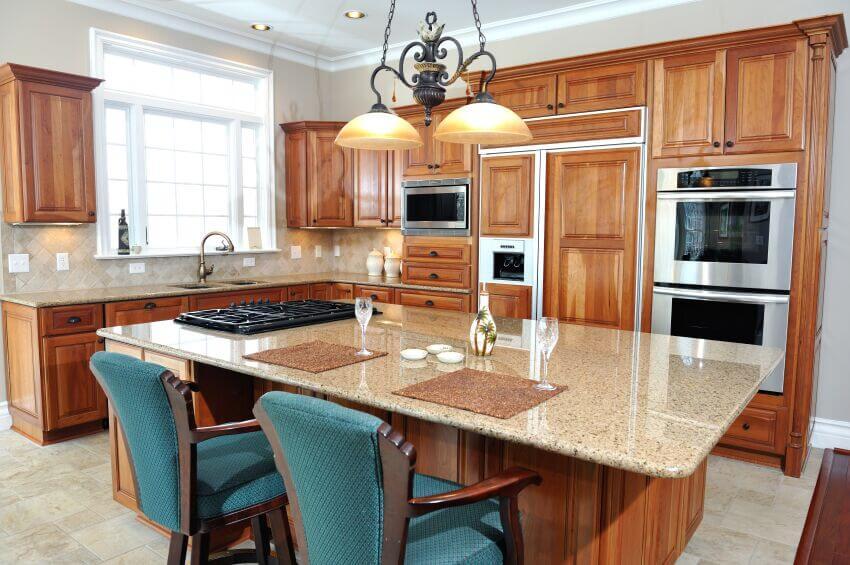 Kitchens Natural Wood
