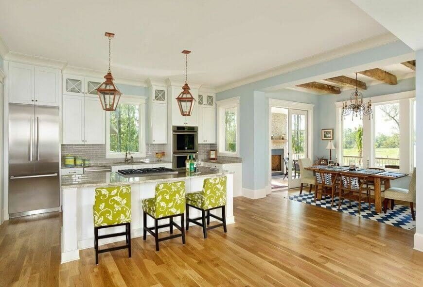 Open Kitchen Design With Island 25 spectacular kitchen islands with a stove (pictures)