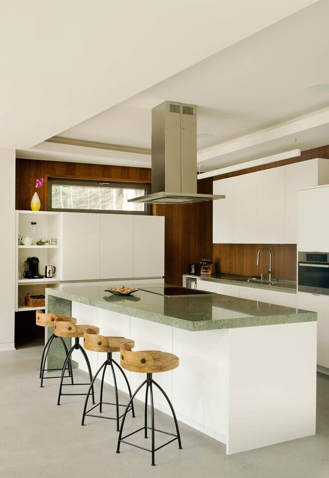 Slim Kitchen Island