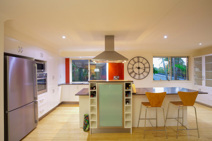 This Ultra Modern Kitchen Shrugs Off The Usual Buttoned Down Look Of Its Contemporaries