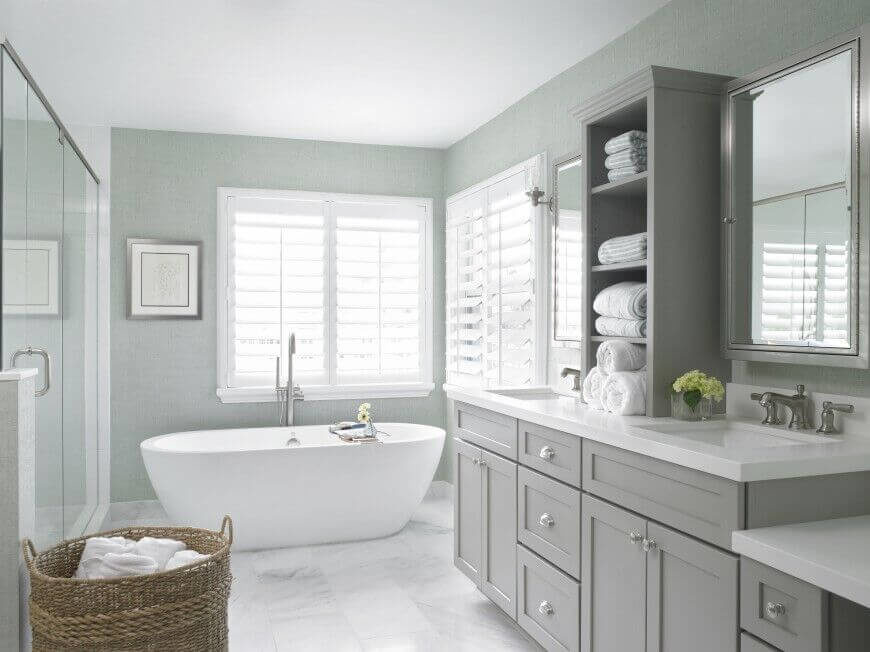 30 master bathrooms with free standing soaking tubs pictures - Salle de bain baignoire ...
