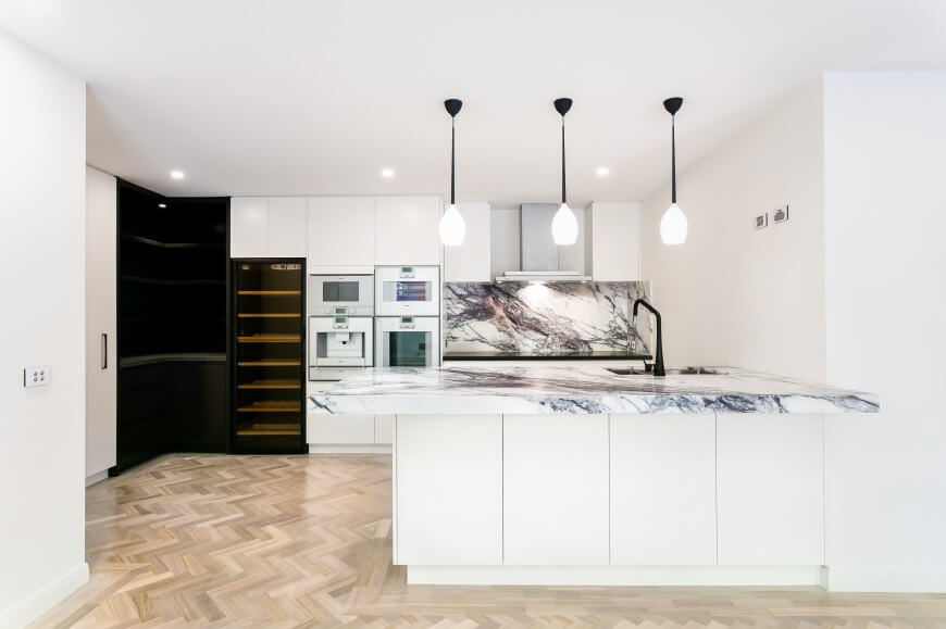 23 Gorgeous G Shaped Kitchen Designs Images