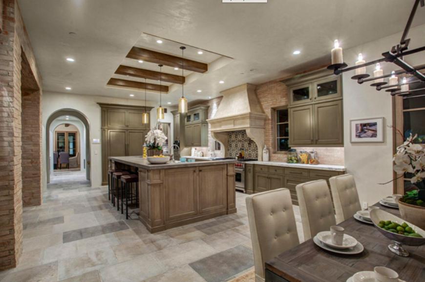 Kitchen Horizontal Tray Cabinet