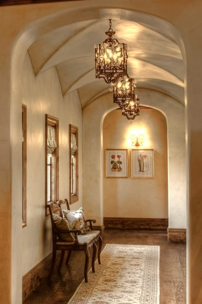 Foyer Light For Sloped Ceiling : Stunning foyers by top designers worldwide