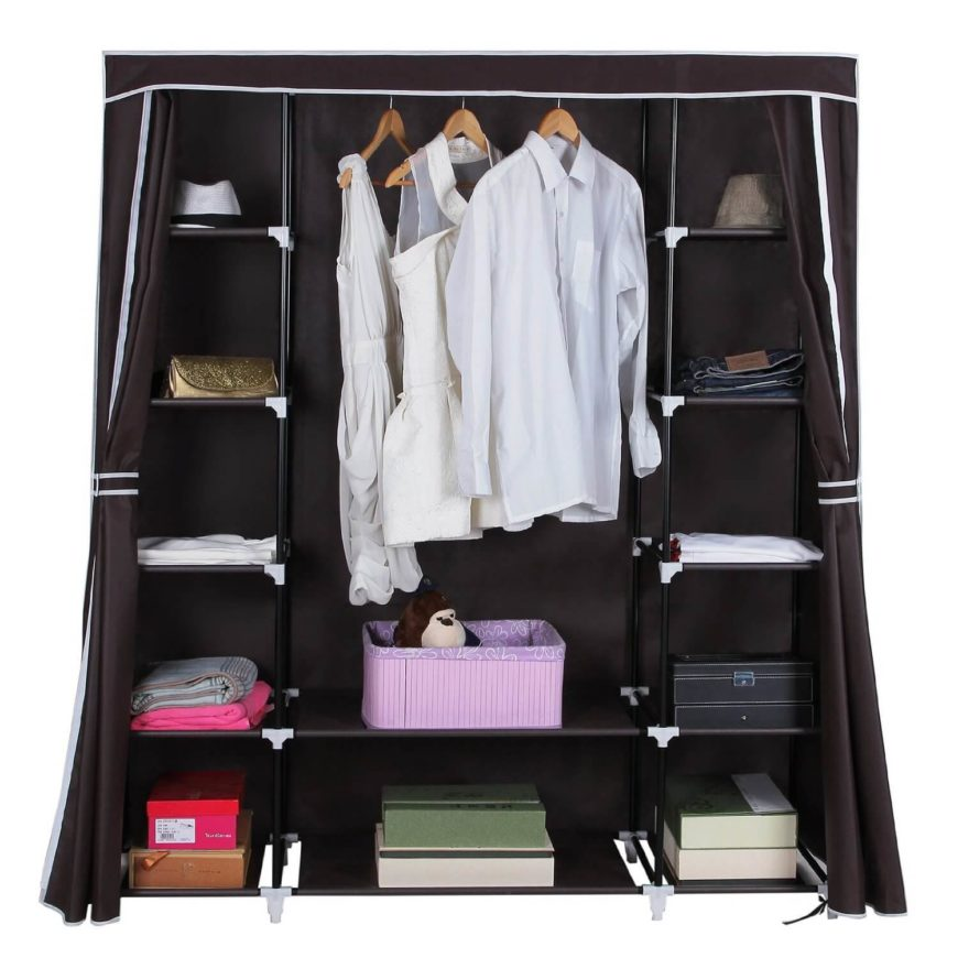 This Portable And Collapsible Storage Solution Can Be A Wardrobe On Its  Own, Or Serve
