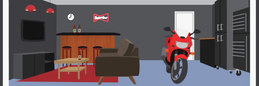 DIY: How To Make A Man Cave In The Basement Or Garage