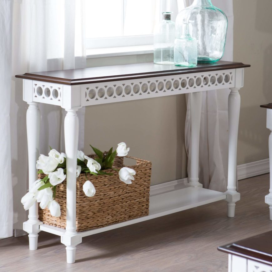 Top 25 types of foyer tables for storage or as accents for Entryway furniture