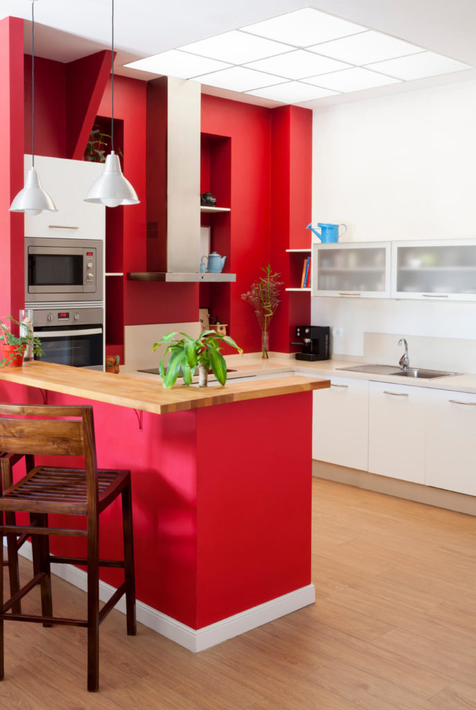 Complementing Kitchen Colors With Greyh