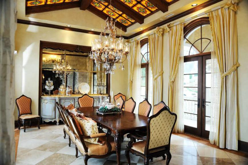 Stunning dining rooms