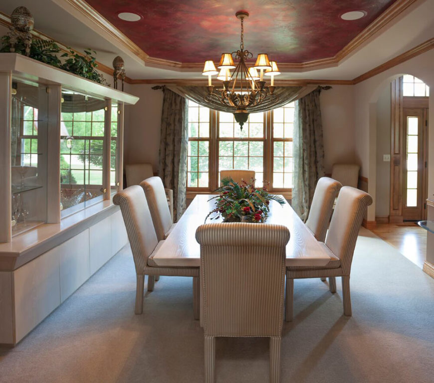 15 marvelous contemporary dining rooms pictures for Bold dining room colors