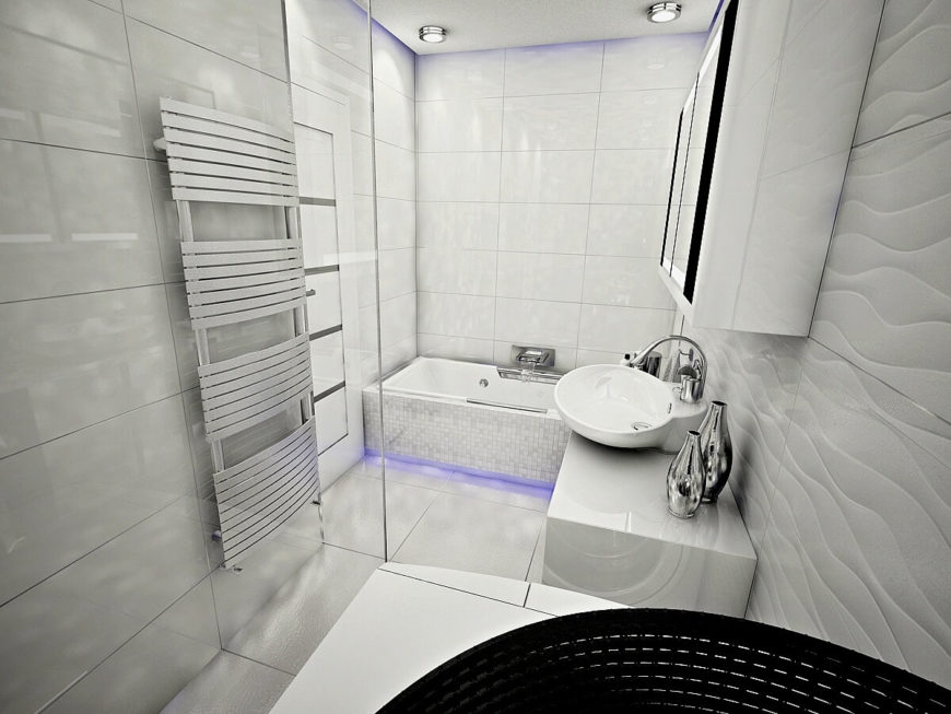 Small Wet Room With Shower