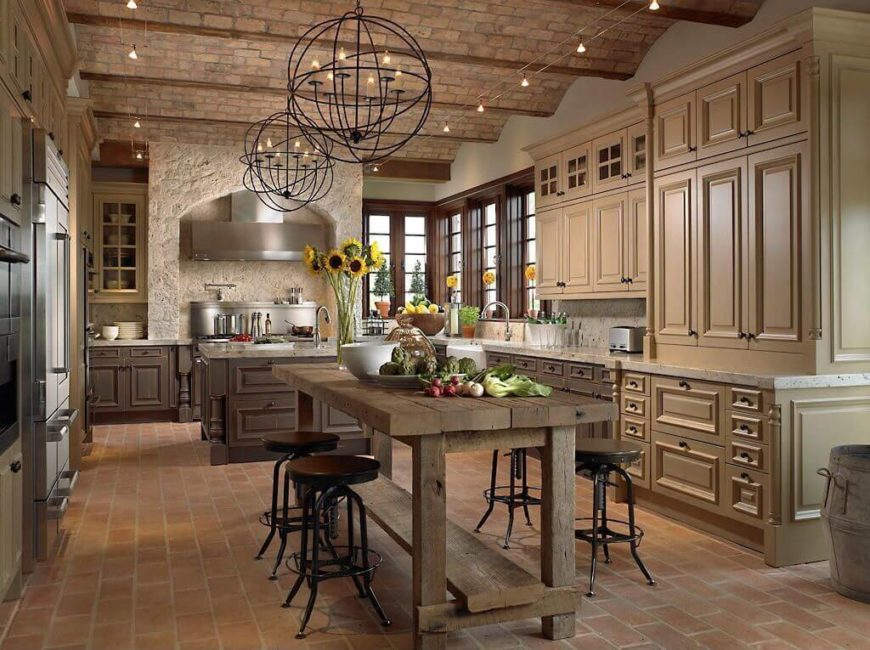 captivating kitchens with dining tables pictures, Kitchen design