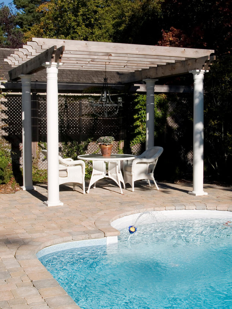 41 incredibly beautiful backyard pergolas. Black Bedroom Furniture Sets. Home Design Ideas
