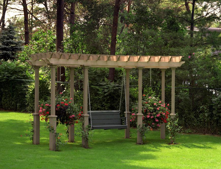 41 Incredibly Beautiful Backyard Pergolas