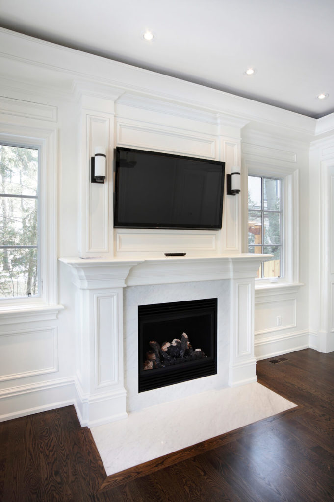 49 Exuberant Pictures Of TVs Mounted Above Gorgeous