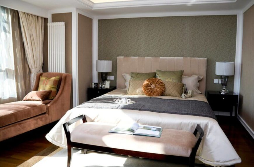 24 Comfortable Bedrooms with an Interesting Accent Wall DETAILED – Bedroom Accent Wall