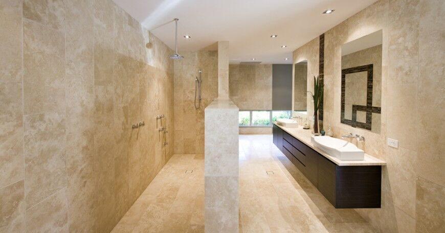 Dark Wood Bathroom – Bathroom with Dark Cabinets