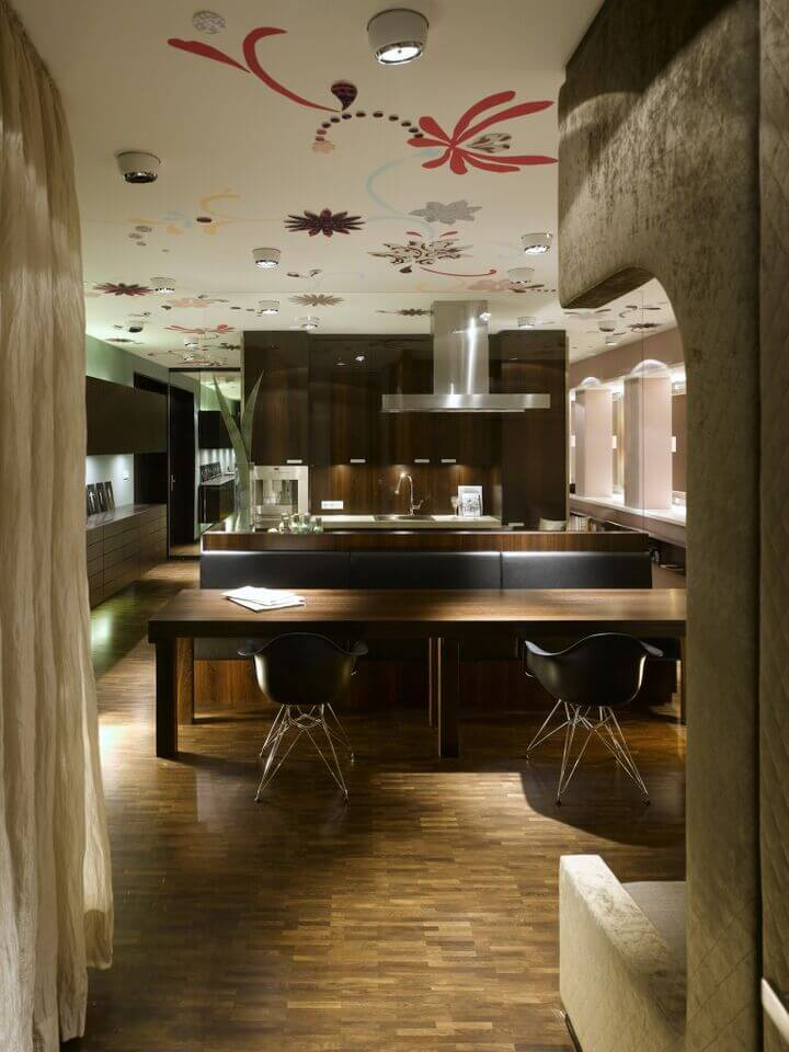 Ideas at the house 46 kitchen lighting ideas fantastic for Rich kitchen designs