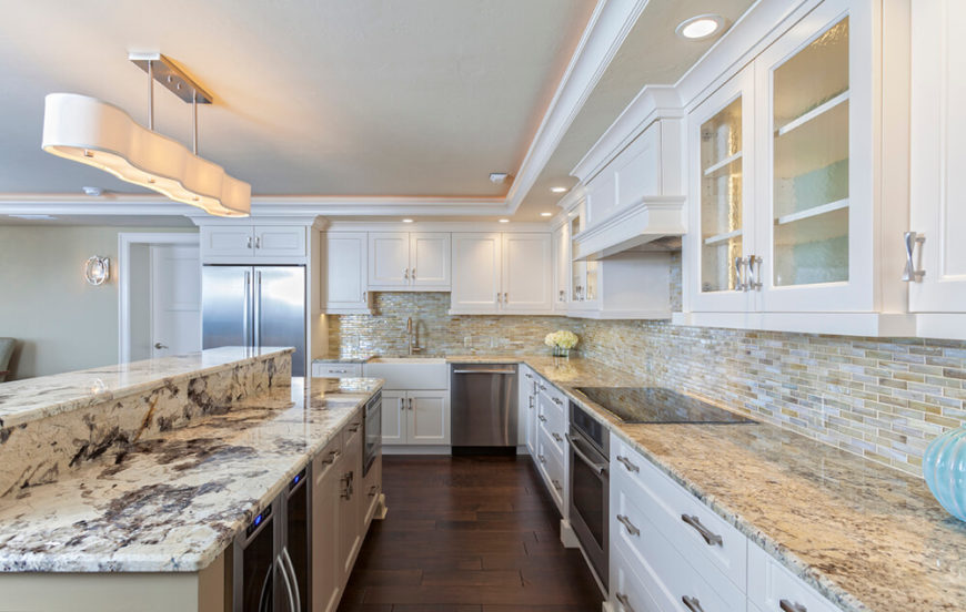 White Kitchen Light Granite 46 kitchen lighting ideas (fantastic pictures)