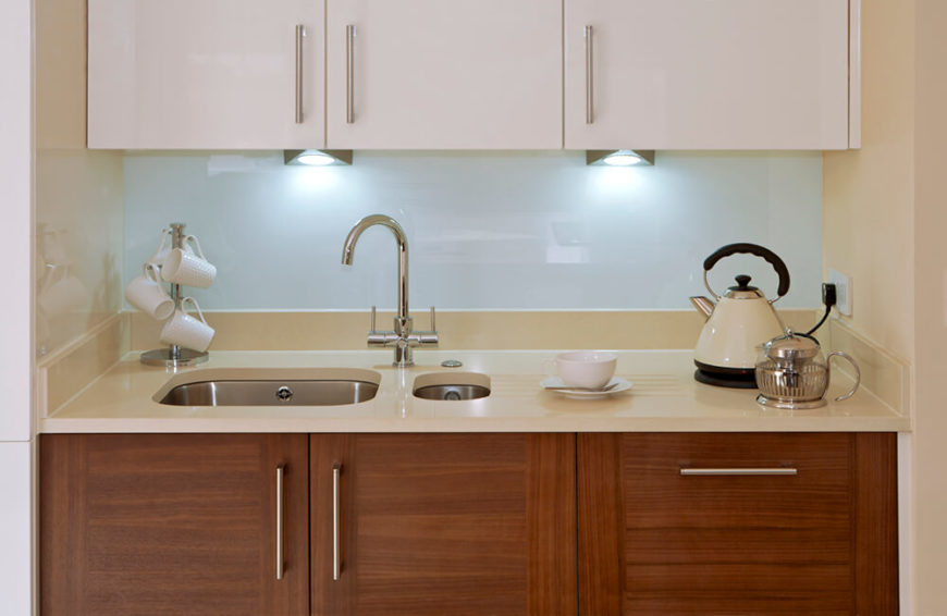 under cabinet lighting ideas. these uniquely shaped spotlights do a great job of lighting up the countertop this little under cabinet ideas n