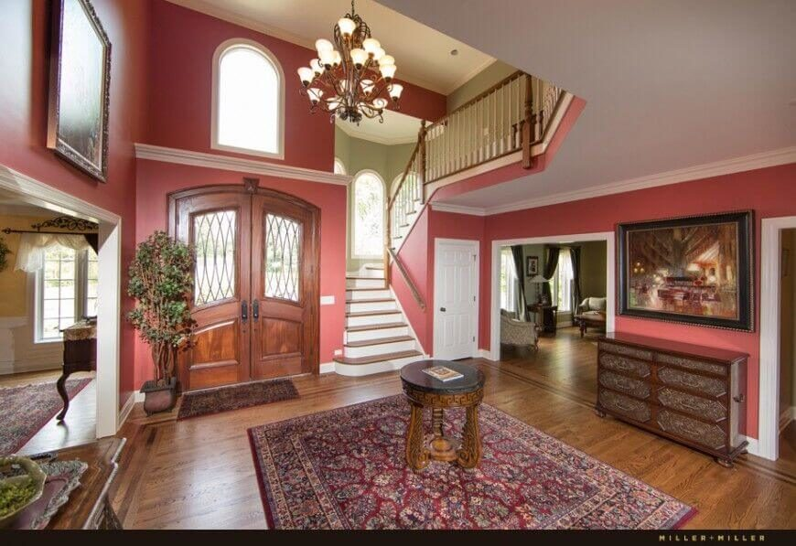 Two Story Entrance Foyer : Elegant foyers with spectacular chandeliers images