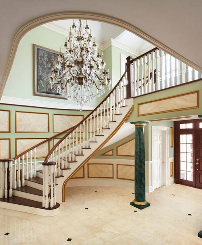 Elegant Modern Foyer : Elegant foyers with spectacular chandeliers images