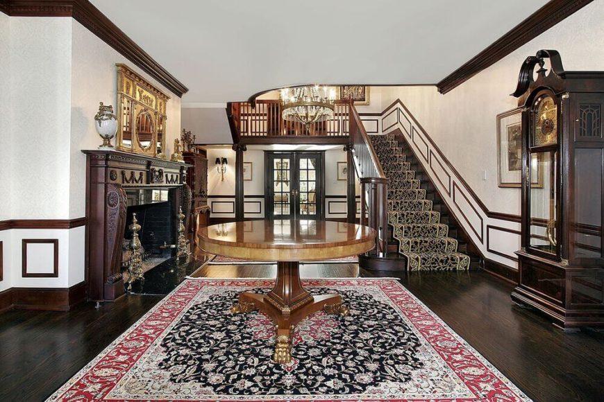 Elegant Foyer Name : 23 elegant foyers with spectacular chandeliers décoration de la maison