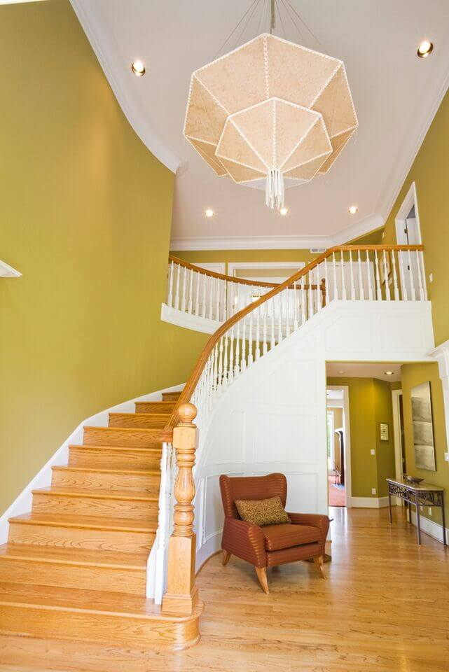 Foyer Staircase Decorating : Elegant foyers with spectacular chandeliers images