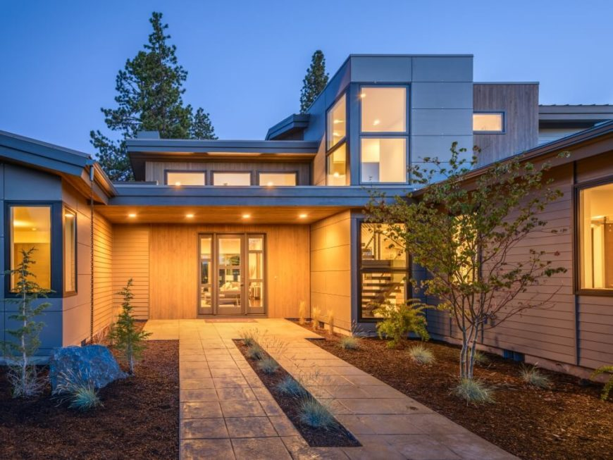 prairie home designs. sprawling modern prairie home. home designs