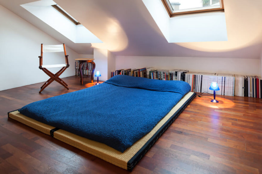 Amazing This Simple Setup Of Tatami Mats With A Futon Mattress Is A Simple But  Effective Way